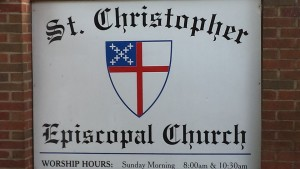 St. Christopher sign
