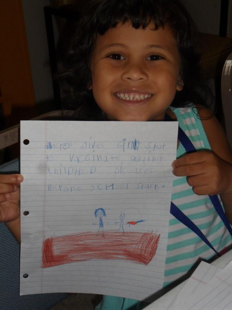 Writing 7-16-15 Annissa story