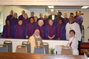 choir bishop and pastor
